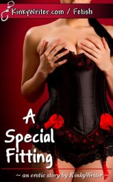 Book Cover for A Special Fitting (by KinkyWriter)