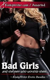 Book Cover for Bad Girls (by KinkyWriter)