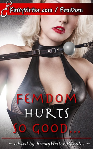 Book Cover for FemDom Hurts So Good... (by KinkyWriter)