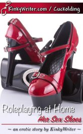 Book Cover for Roleplaying at Home: Her Sex Shoes (by KinkyWriter)