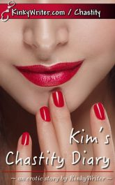 Book Cover for Kim's Chastity Diary (by KinkyWriter)
