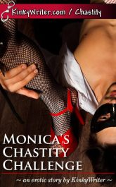 Book Cover for Monica's Chastity Challenge (by KinkyWriter)