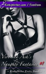 Book Cover for Veronica Ash's Naughty Fantasies #1 (by Veronica Ash)