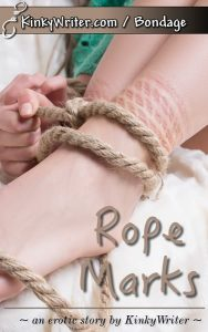 Book Cover for Rope Marks (by KinkyWriter)