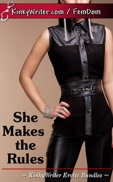 Book Cover for She Makes the Rules (by KinkyWriter)