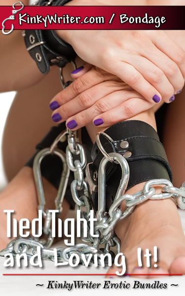 Book Cover for Tied Tight and Loving It! (by KinkyWriter)