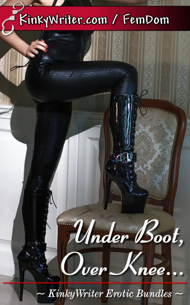Book Cover for Under Boot, Over Knee... (by KinkyWriter)