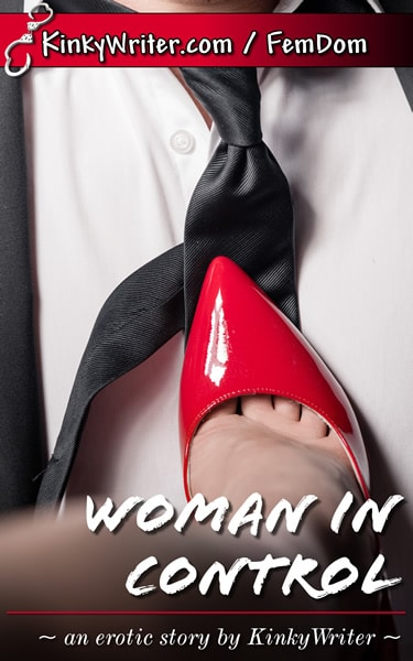Book Cover for Woman in Control (by KinkyWriter)