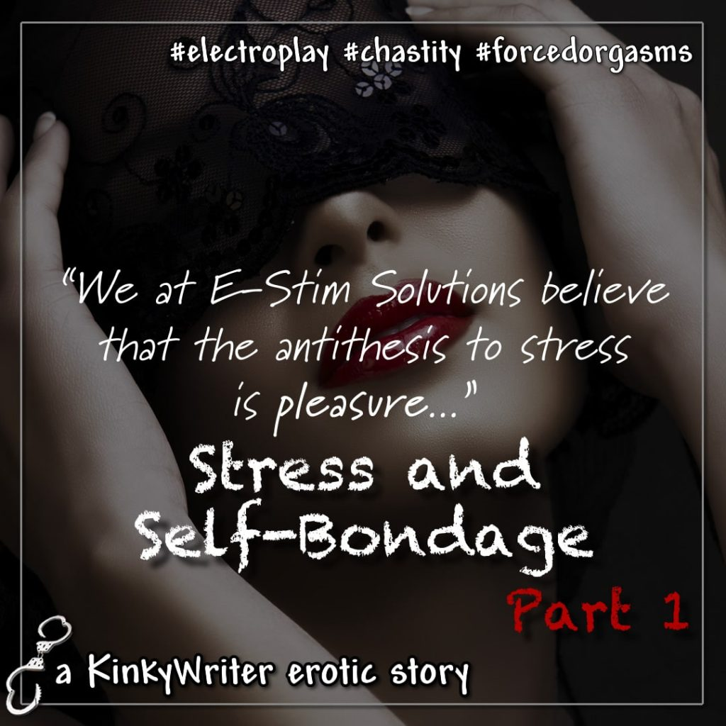 """""""We at E-Stim Solutions believe that the antithesis to stress is pleasure..."""""""