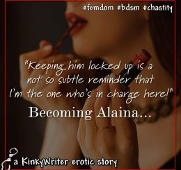 """""""Keeping him locked up is a not so subtle reminder that I'm the one who's in charge here!"""""""
