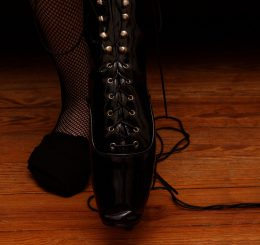 Cover Preview for The Slut Wore Ballet Boots (by KinkyWriter)